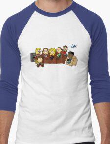 Theory Nuts Men's Baseball ¾ T-Shirt