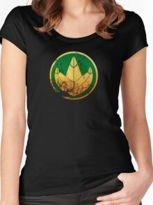 Dragonzord Coin Women's Fitted Scoop T-Shirt