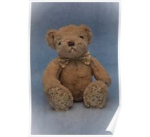Teddy Blue Poster