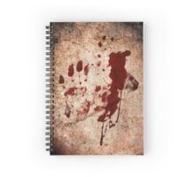 """Dexter"" - Hand with Blood Spiral Notebook"