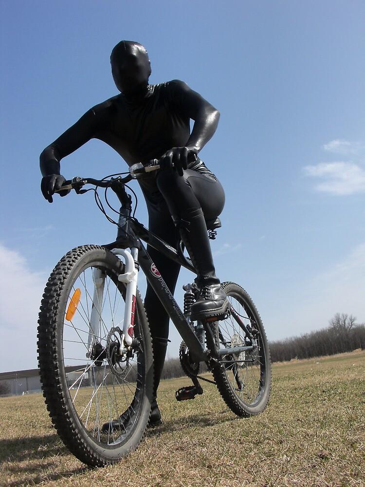 Zentai Bike Rider II by mdkgraphics
