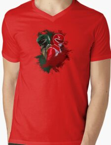 Tommy & Jason MMPR Mens V-Neck T-Shirt