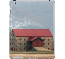 Snyder's Stone Barn ...After A March Sunset iPad Case/Skin