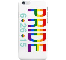 Pride iPhone Case/Skin
