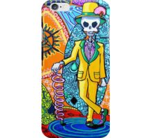 Skull with suit iPhone Case/Skin