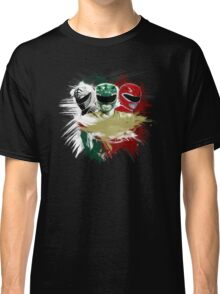 White,Green,Red Rangers Classic T-Shirt