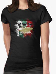 White,Green,Red Rangers T-Shirt