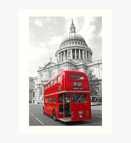 Timeless London Art Print