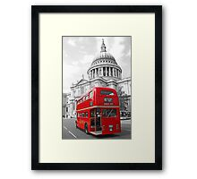 Timeless London Framed Print