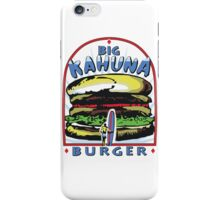 Big Kahuna Burger t-shirt (Pulp Fiction, Tarantino, Bad Motherf**ker) iPhone Case/Skin