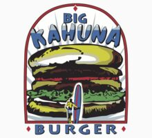 Big Kahuna Burger t-shirt (Pulp Fiction, Tarantino, Bad Motherf**ker) by fandemonium
