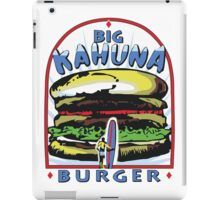 Big Kahuna Burger t-shirt (Pulp Fiction, Tarantino, Bad Motherf**ker) iPad Case/Skin