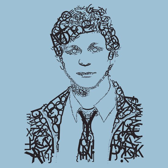 TShirtGifter presents: Cera's Face of Type