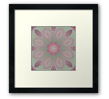 CRAZY ECHO DANCE Framed Print
