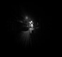 A dark alley by Ecohippy