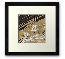 Born in Winter Framed Print