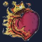 LOVE IS KING by SquidHead