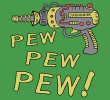Pew Pew Pew One Piece - Short Sleeve