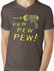 Pew Pew Pew Mens V-Neck T-Shirt