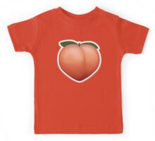 Peach Emoji Kids Tee