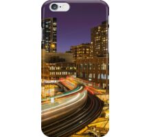 "The ""L"" train at the Loop iPhone Case/Skin"