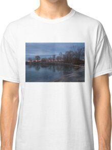 Calm, Pink Morning - Lake Ontario in Toronto Classic T-Shirt