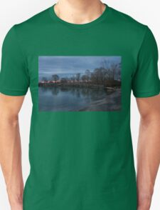 Calm, Pink Morning - Lake Ontario in Toronto Unisex T-Shirt