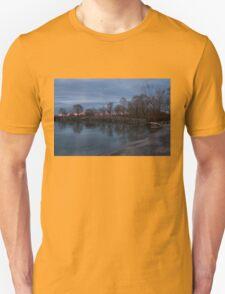 Calm, Pink Morning - Lake Ontario in Toronto T-Shirt