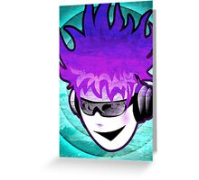 Music Makes YOU FEEL COOL!  Greeting Card