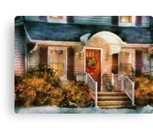 Christmas - Noel Canvas Print
