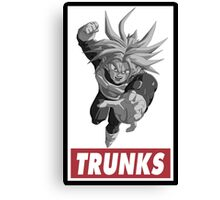 Trunks Obey Style Canvas Print