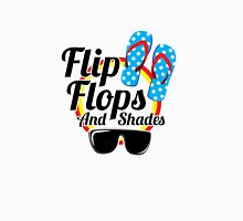 Flip Flops and Shades Womens Fitted T-Shirt