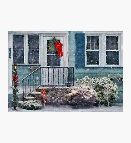 Christmas - Merry Christmas - Painted Photographic Print