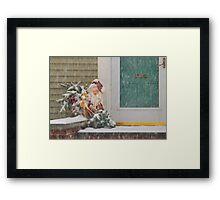 Christmas - Oh, Oh, Brrr Framed Print