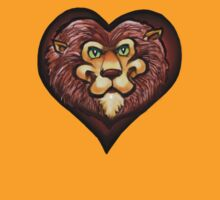 Lion Heart Pocket Tee by Kevin Middleton