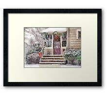 Christmas - Silent Day - painted Framed Print