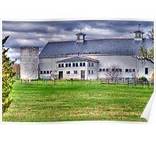 New Hampshire Farm Poster