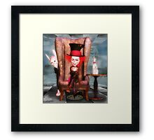 Mad As A Hatter  Framed Print
