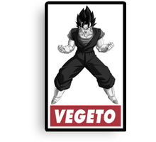 Vegetto Obey Style Canvas Print