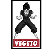 Vegetto Obey Style Photographic Print