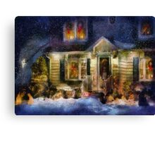 Christmas - The night before Christmas - painted Canvas Print
