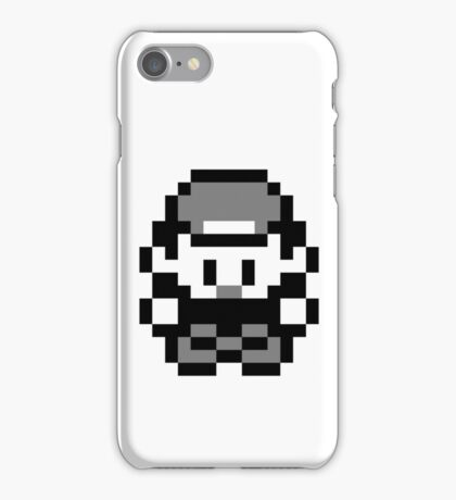 Pokemon Trainer Red (Generation 1 Red/Green/Blue) iPhone Case/Skin