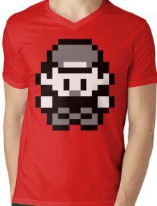 Pokemon Trainer Red (Generation 1 Red/Green/Blue) Mens V-Neck T-Shirt
