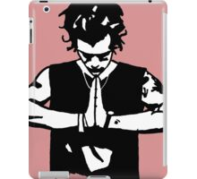 Harry Styles Silhouette Drawing  iPad Case/Skin