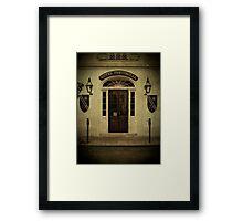 Hotel Provincial Framed Print