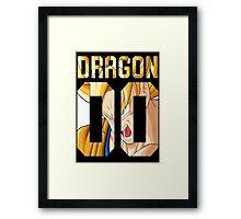 Goku American Style Framed Print