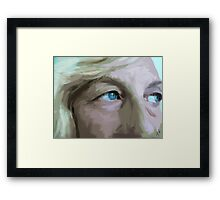 My Baby Blues Framed Print