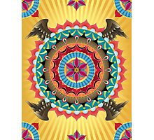 Virgin of Guadalupe Mandala Photographic Print