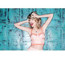 Taylor Swift 1989 Photoshoot Print Photographic Print