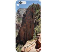 Angels Landing Zion NP Utah iPhone Case/Skin